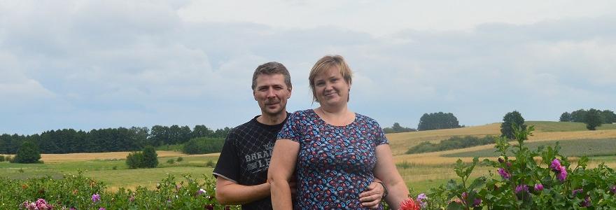 Rasa ir Osvaldas Amboltai mėgina gyventi ir mieste, ir kaime.