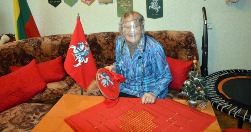A.Mikalonienė – ne naujokė kūryboje. <em>D. Babarskienės nuotr.</em>