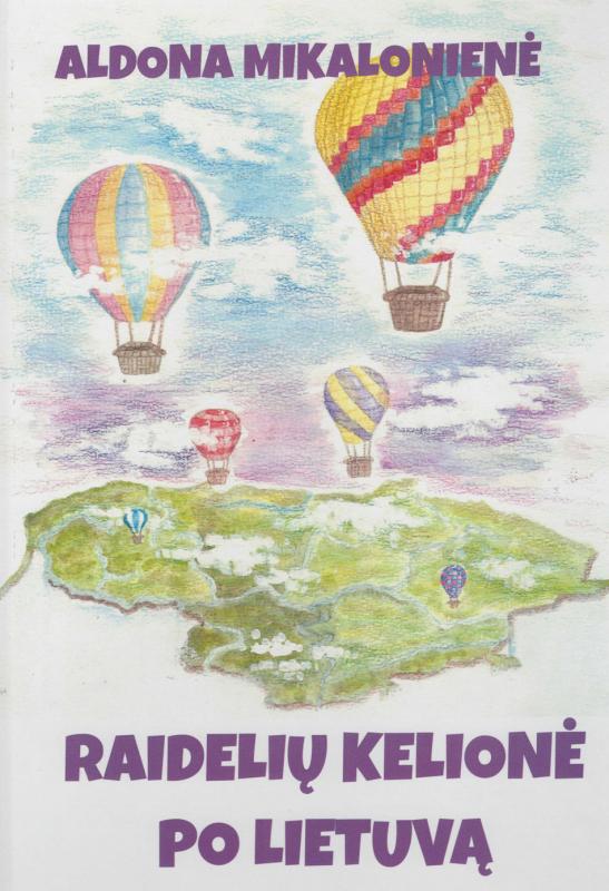 Knyga iliustruota taip, kad vaikai lengvai įsimintų raides.