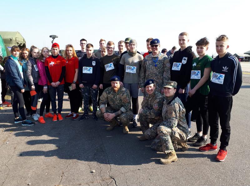 <strong>Su kariais iš Latvijos.</strong>